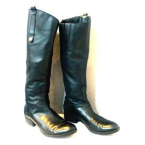 Sam Edelman Black Riding Boots